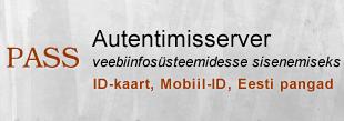 PASS, autentimisserver veebisüsteemidesse sisenemiseks, ID-kaart, Mobiil-ID, Eesti pangad
